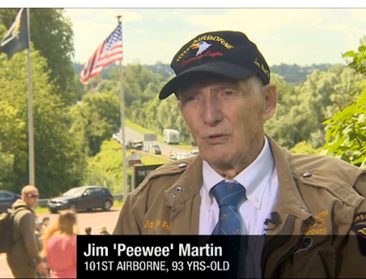 After 70 Years, This WWII Vet Suits Up for One More Drop Over Normandy
