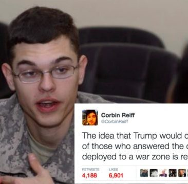 This Vet Had the PERFECT Response To Donald Trump Accusing Soldiers of Corruption