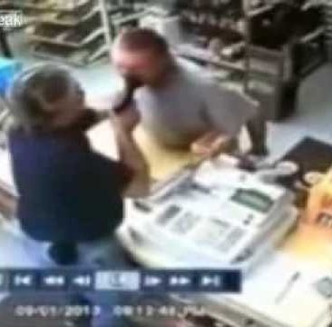 This Is What Happens When You Try To Hold Up A Liquor Store With A Veteran Behind The Counter