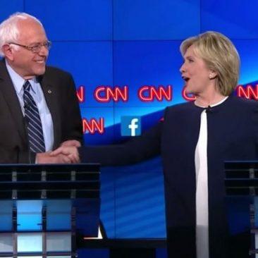 Bernie-Sanders-Hillary-Clinton-Debate-Enough-About-The-Emails-e1444829688998.jpg