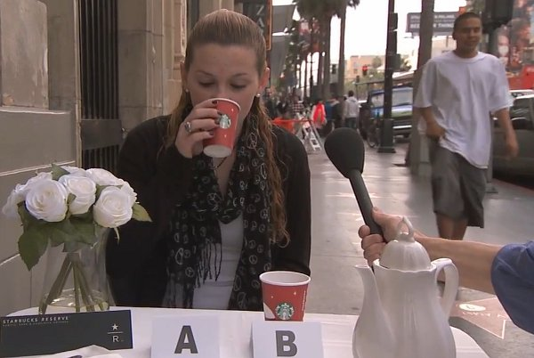 Kimmel: Starbucks Coffee Prank