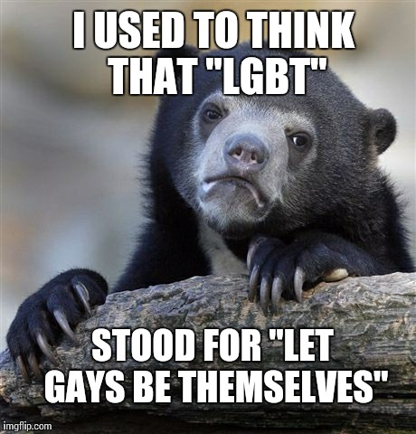 It made sense to me