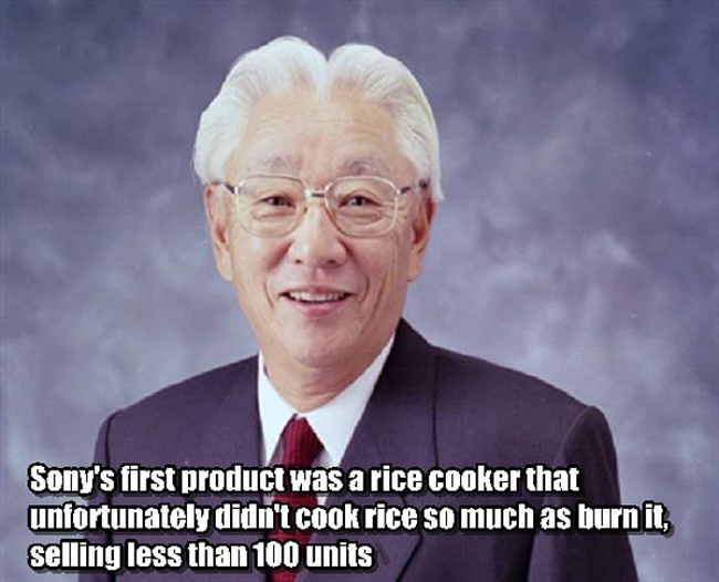 2.) Akio Morita –President of Sony