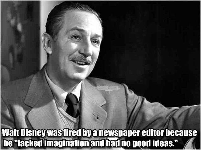 3.) Walt Disney.