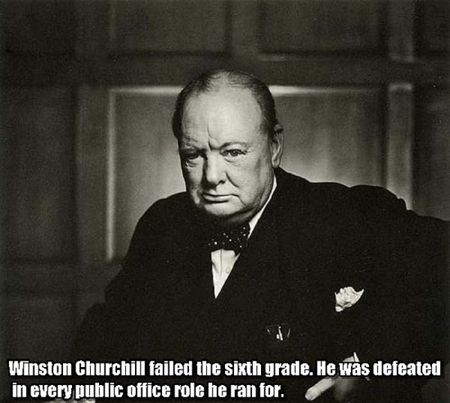 12.) Winston Churchill.