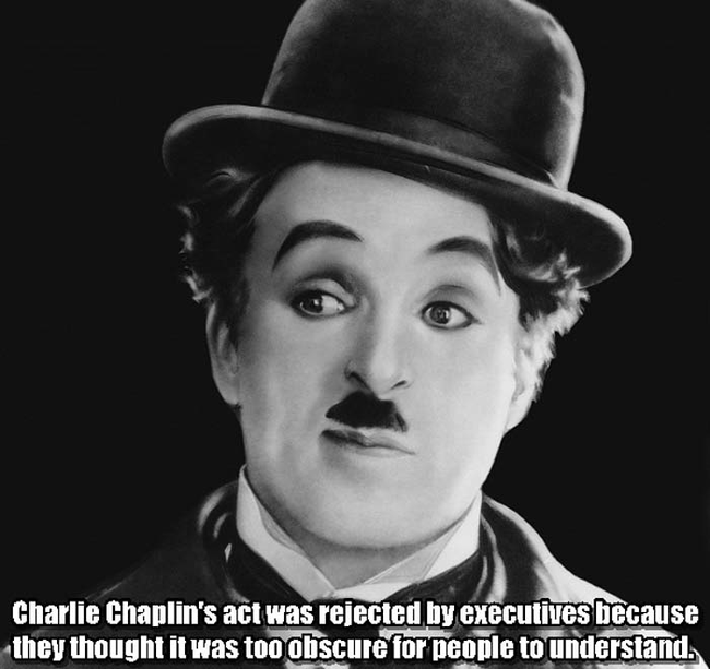11.) Chaplin Charlie.