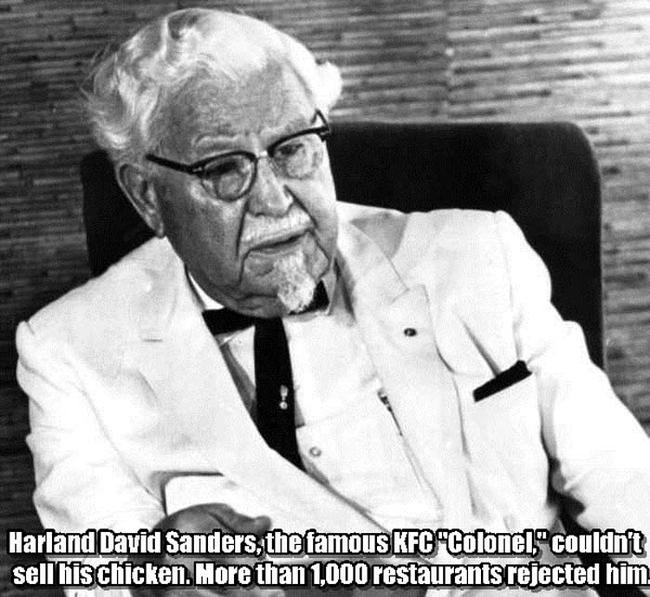 13.) Harland David Sanders.