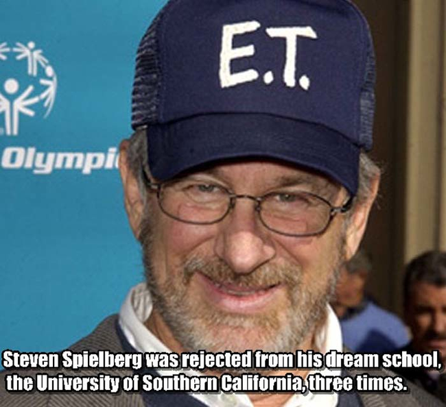 10.) Steven Spielberg.