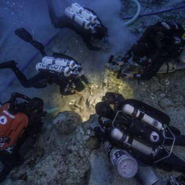 2,000-Year-Old Human Skeleton Found On Antikythera Shipwreck